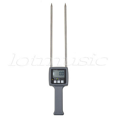 Lcd Digital Grain Moisture Meter Tester For Flour Of Wheatryecornpaddycoffee