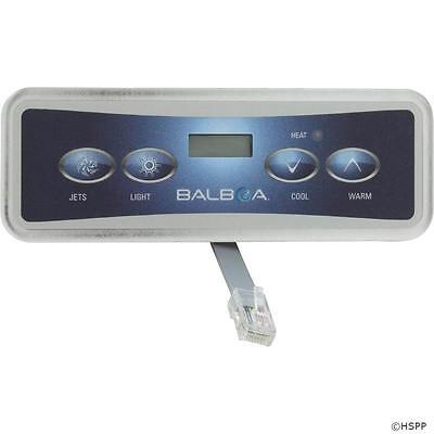 Balboa Lite Duplex Digital Spa Hot Tub Control Panel Keypad 54665 VL401 VS500