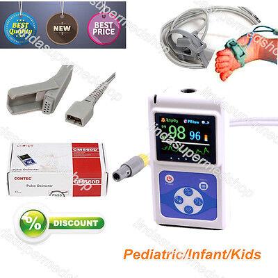 Neonatal Kids Born Pulse Oximeter Spo2 Monitor Infant Pediatric Monitor Ce Fda