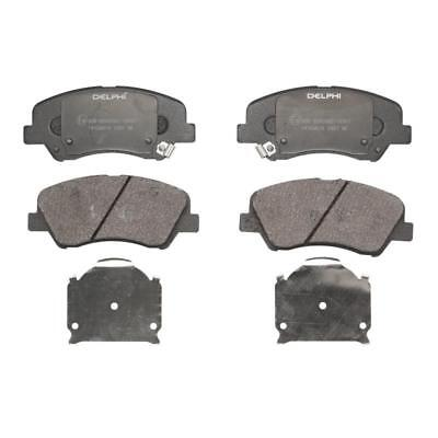 Brake Pads Set fits HYUNDAI i10 PA 1.2 Rear 08 to 13 G4LA ADL 58302B4A30 Quality