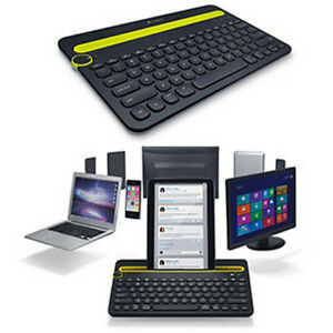 LNIB Logitech K480 Multi Device Keyboard for tablets AND phones