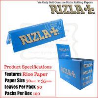 Rizla Blu Regolare/formato Standard Sigarette Per Rollare Documenti - Unica -  - ebay.it