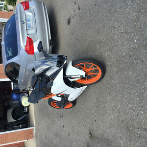 2015 KTM RC390 Trade for Car or SUV