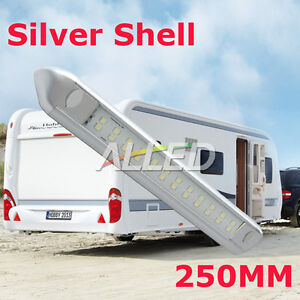 12V-LED-Awning-Light-Sliver-Waterproof-Camping-Lamp-Caravan-Motorhome-Boat-Light