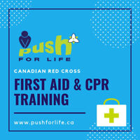 Standard First Aid & CPR Certification - Red Cross