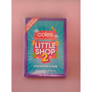 Coles Little Shop 2 Collector Case