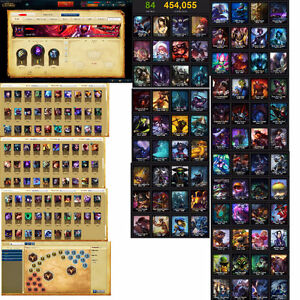 Compte League of Legends - 88 Champions - 84 Skins (5S Gold)