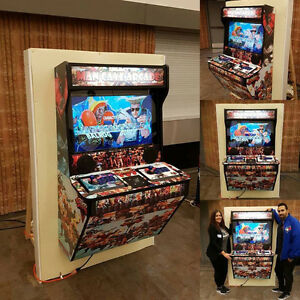 Man Cave Arcade Machine Custom Built for PS4/PS3/XBOX ONE/360/PC