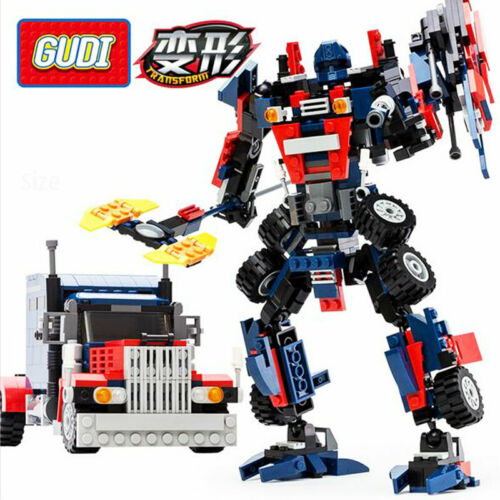 Toys for Boys Transformers Robot Truck Car 2 IN 1 Building B