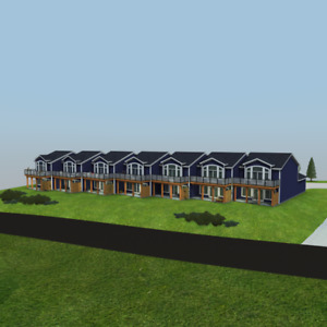 One of a kind townhouse development in Shortts Lake! Lot 7