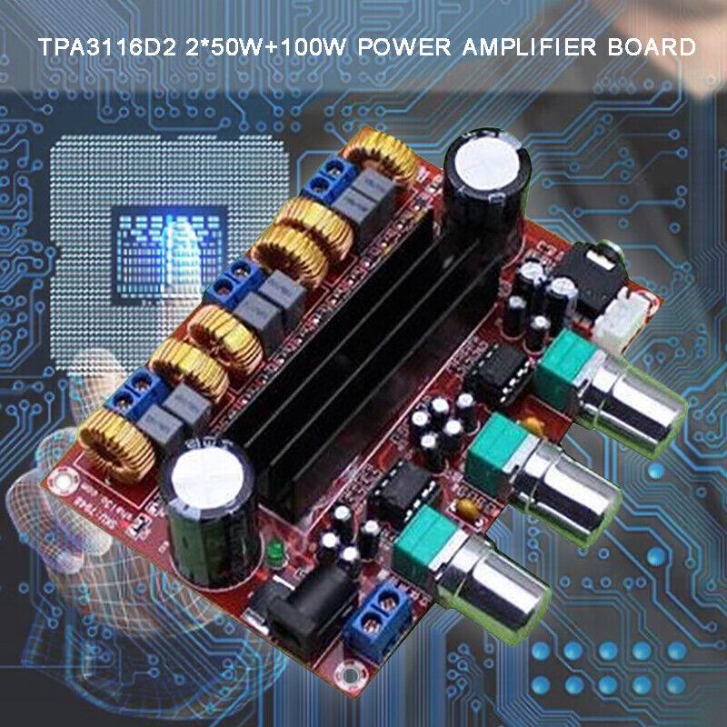 1Pc TPA3116 50Wx2 Bluetooth Digital Amplifier Board Verstärkerplatine Stereo