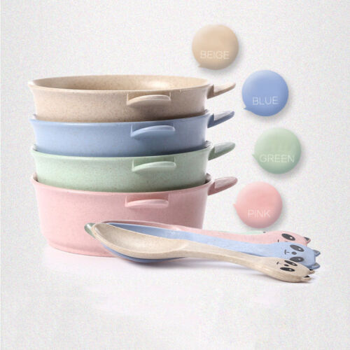 Baby Kids Children Suction Cup Bowl Slip-resistant Tableware Set Sucker Bowl