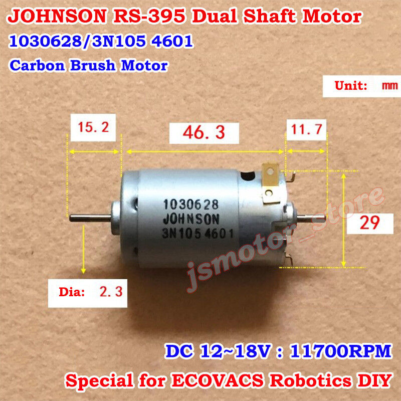 Johnson Type 3 DC Robotics Motor