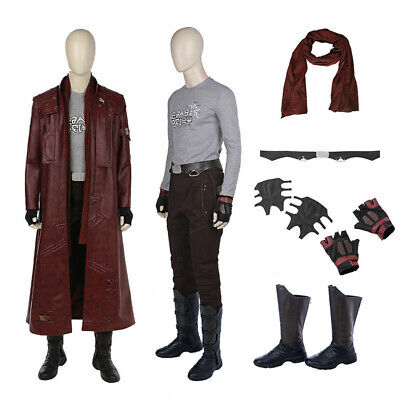 Guardians of the Galaxy 2 Star lord Cosplay costume Halloween Superhero costumes](Star Lord Costume Halloween)