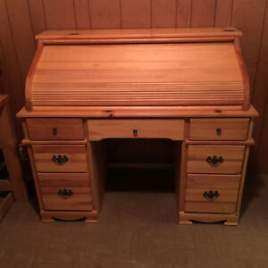 Estate Sale - Roll Top Desk