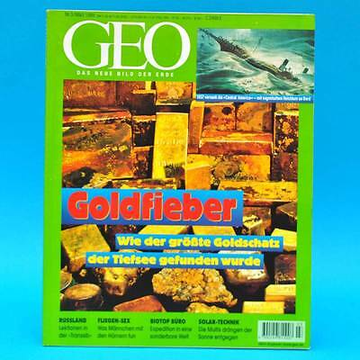 GEO Magazin 3/1999 Goldschiff Fliegen-Sex Biotop Büro Jeune-Syndrom Rauhreif online kaufen