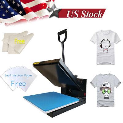 15x15 Clamshell Machine Transfer Digital Sublimation Heat Press For T-shirt Us
