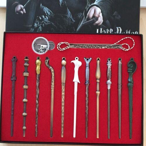 New 11 PCS Harry Potter Hermione Dumbledore Voldemort Magic Wands Halloween Gift