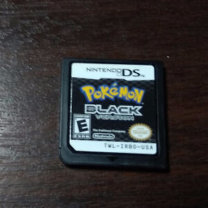 Pokemon black nintendo ds no case