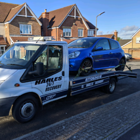 Harles recovery 24/7 accident breakdown recovery service