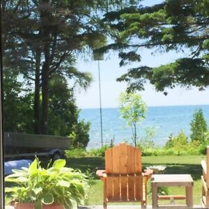 Lake front cottage on Bruce Penisula: available July 1 weekend