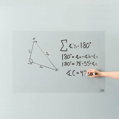 Writing Film Clear Single Side Adhesive Wall Window Transparent Dry Erase Board