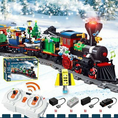 Le go Creator Winter Holiday Train (20001) Building Kit 826 Pcs Xmas Gift