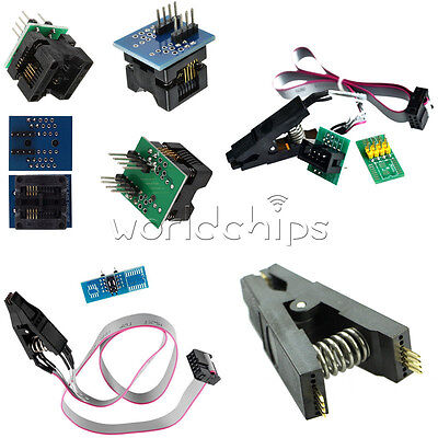 Soic8 Sop8 Chip Ic Test Clips Socket Adpter Programmer Converter 150200mil