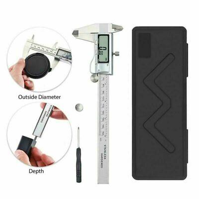 Digital Caliper Vernier Micrometer Electronic Ruler Gauge Meter 0-150mm 6 Inch