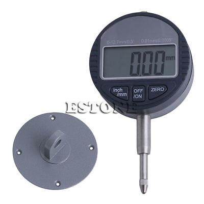 0.01mm0.0005 Range 0-12.7mm1 Gauge Digital Dial Indicator Precision Tool New