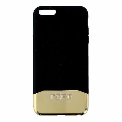 Incipio Edge Chrome Slider Case for iPhone 6 Plus 6S Plus Black and Gold