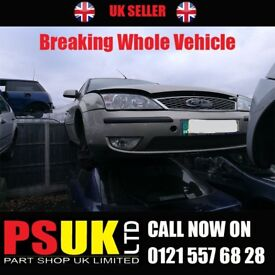 Ford Mondeo Breaking For Parts