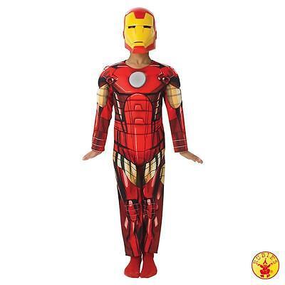 RUB 3887751 Lizenz Kinder Jungen Kostüm Iron Man Deluxe Avengers Assemble Marvel ()