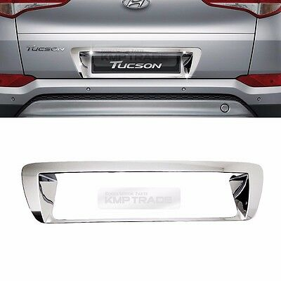 Chrome Rear License Plate Number Trim for HYUNDAI 2016-2018 Tucson