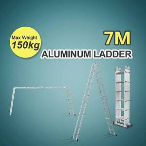 7m Folding Aluminium Ladder Multipurpose for NSW area Matraville Eastern Suburbs Preview