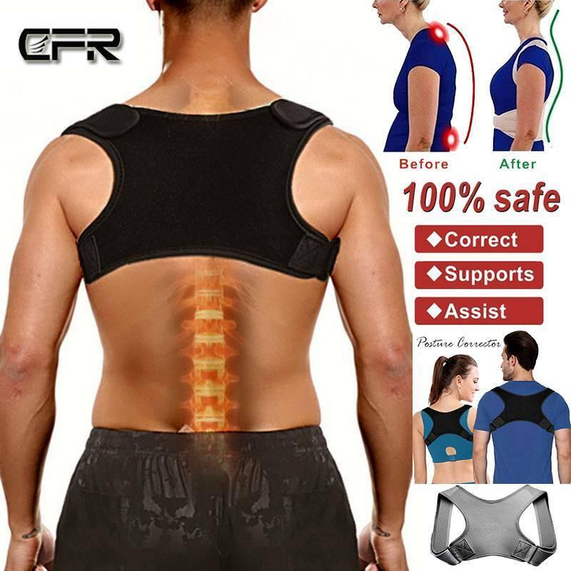 Medical Back Posture Corrector For Men Women Brace Clavicle