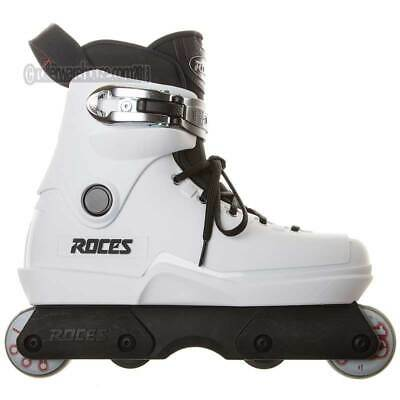 Roces M12 Lo White Aggressive Inline Skates US Mens 12.0 NEW