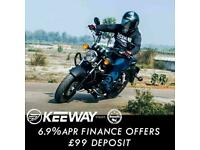 Keeway Superlight 125cc LTD Custom Cruiser Chopper Retro Classic Motorcycle