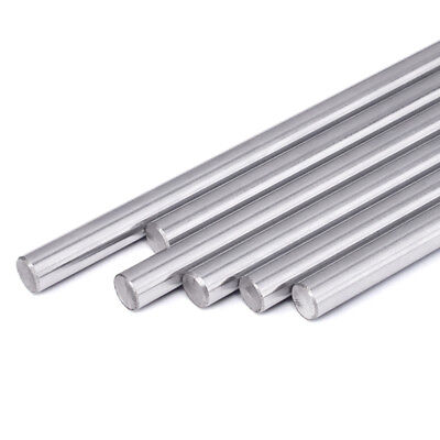 100-320mm 8mm Cnc 3d Printer Axis Chromed Smooth Rod Steel Linear Rail Shaft