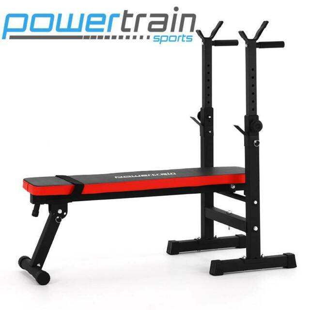 Adjustable Home Gym Bench With Squat Stand