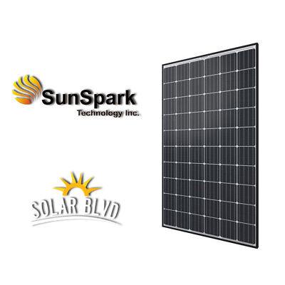 SunSpark 300 Watt 24V Volt 60 Chamber Solar Panel Monocrystalline UL Made in USA