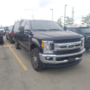 2017 Ford F-250HD with Cap