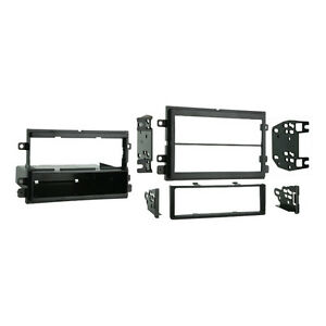 Metra 99-5807 aftermarket radio install kit trim for deck Ford