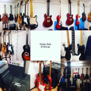 Guitar Sale electronic & acoustic $150+up