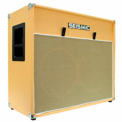 212 GUITAR SPEAKER CAB EMPTY Cabinet  ORANGE TOLEX 2x12 2x12 Guitar Speaker Cabinet