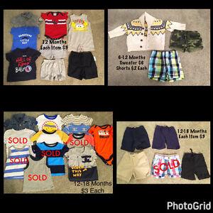 Infant / Toddler All Season Clothing