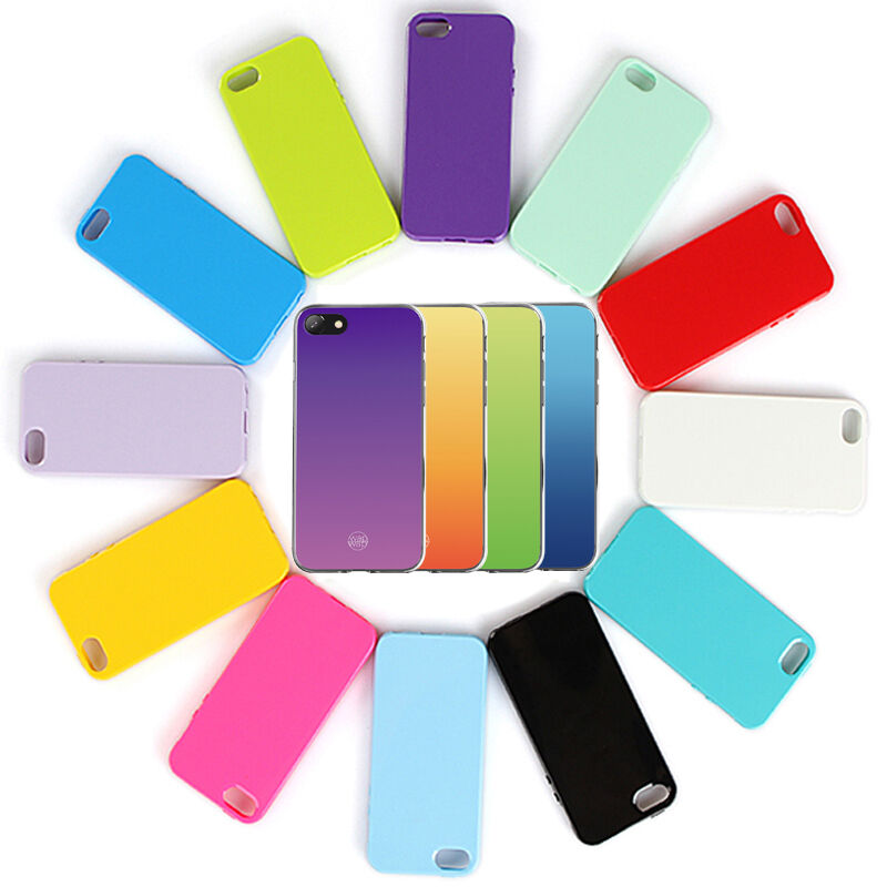 For iPhone 8 7 Plus Case Ultra Thin Soft Shockproof Silicone