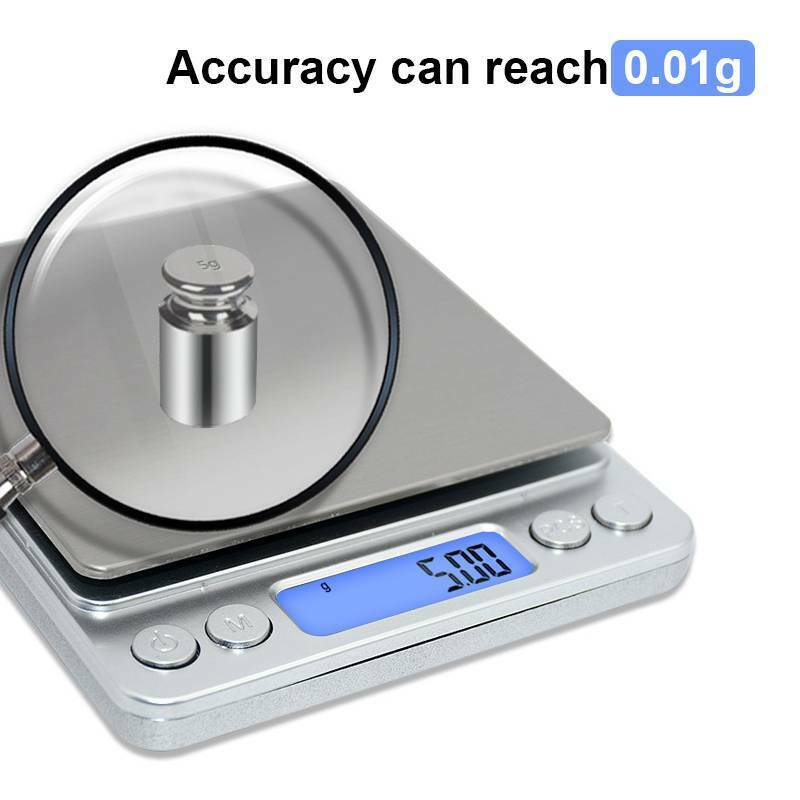 Kitchen Scale Digital Electronic Food Weight Jewelry Gold Si