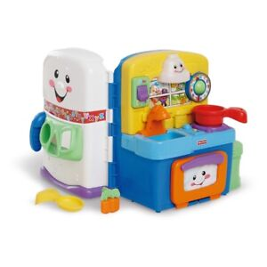 Bilingual Fisher Price Laugh & Learn Kitchen Set LIKE NEW