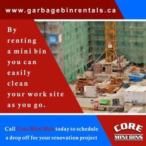 Disposal bins, Premium Quality Soil Mixtures Toronto - Ontario